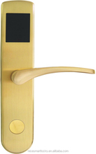 high security rfid card sliding glass hotel door lock
