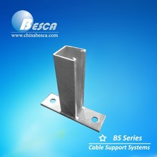 Hot Dip Galvanized HDG Steel Bracket for Cable Tray Support System (UL, cUL)