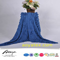 Ruffle velo tecido acrílico preço cobertor