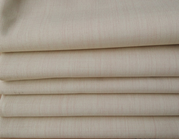 Arcylic PA coated fabric qualified for Flame retardant SGS NFPA701 nonflammable hote bedroom blackout curtain stcokist