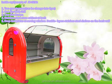 New arrival! JC-2230 For cooking and selling hot fast food application and new condition BBQ grill cart hamburger cart