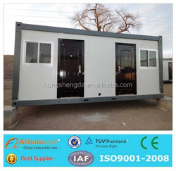 prefab modular modern flat fack 20ft shipping container house