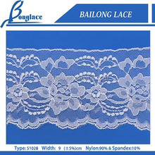 stretch new fashion BAILONG lace trim