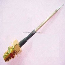 Factory 35cm Length Cable , U.FL - N male Coaxial Cable , RF U.FL - N Male Pigtail Cable