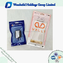 clear plastic bag ziplock bag cell phone case / mobile phone accessary packaging phone case packaging