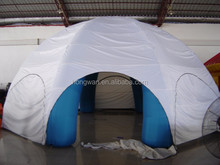 2015 popular advertising inflatable tent inflatable tent with rooms hot air balloon price