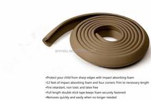 Flat Type Baby Safety Edge Guard rubber edge guard/Foam edge guard