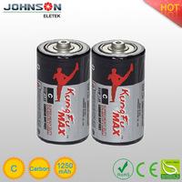r14 um-2 c 1.5v battery Johnson Eletek yuyao china