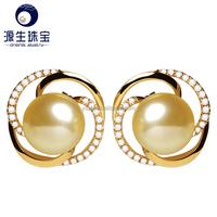 Colorful Women Double Pearl Earrings Cheap Vintage Statement Stud Earring,Charming Double Artificial Bead Earring Ear Stud
