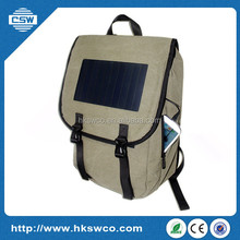 outdoor portable solar charger bag for laptop/iphone/ipad