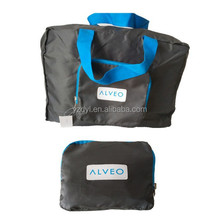 210D polyester cheap folding duffle bag foldable travel bag