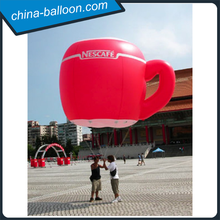 2015 New design inflatable cup model/ giant cup model for promotion