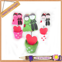 note clip for weeding,memo note photo clip,multi-shaped note clip,