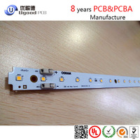 Fashionable panel circuit board led, light tube t4,solder pcb with UL,ROHS in China