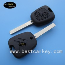 High quality 2 button 433Mhz car remote key for citroen remote control key for citroen key with ID46 chip