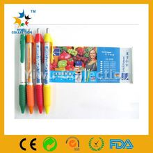 new banner flag pen with logo,christmas gift pen,eco cartoon ballpoint pen