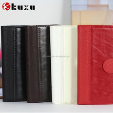 Commercial real leather factory sell case for iphone