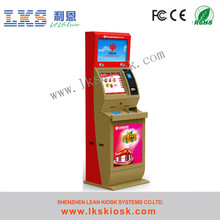 China Factory Lottery Ticket Printing Machine Video Game Kiosk Manufacturer