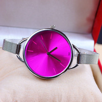 Free sample custom cheap silicone jelly watch new designer silicone watch