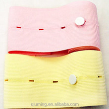 2015 New design and best quality pink fetal belt disposal with button