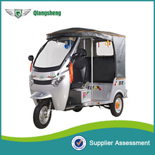ECO friendly electric tricycle 6 passengers