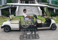 four seat golf cart / car for disabled person