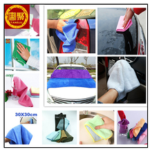 High Water absorption Microfiber Cloth Cleaning Car Kitchen Dish Cloth