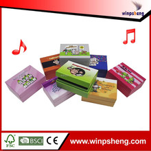 2015 customized recordable anime music box for kids