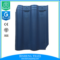 Heat Insulation Never Fade Ceramic Tile Roof Tile 300x400mm