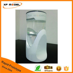 High quality rapid prototype bottle water heater modeling with silk screen finishing
