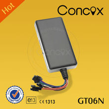 Car alarm gps tracker which can be checked by smart phone and website Concox GT06N