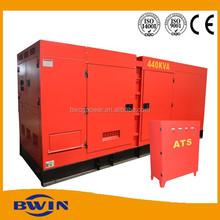 Electric generator diesel power 10kva to 500kva price with ATS