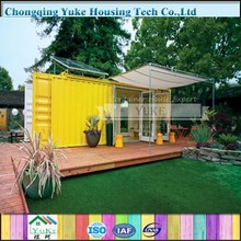 2015 China Yuke Earthquake Resistant Prefab Modular Container Hotel Room