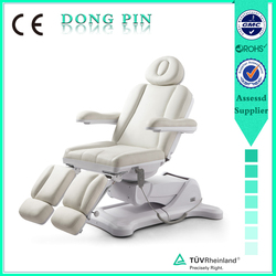 adjustable electric spa facial beds with three motors for massage