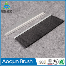 Professional and eco-friendly aircraft hangar brush strip sweep use for door bot