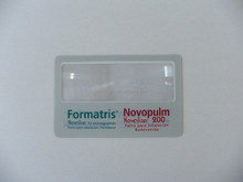 business card magnifier card size magnifying glass