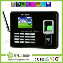 High Security Bank equipments WAN/ LAN Portable Fingerprint Punch Machine