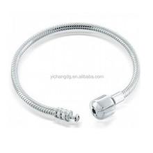 2015 Best Selling Stainless Steel Snake Barrel Chain Bracelet