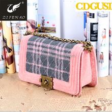 OEM brand high quality fashion wholesale suede handbags