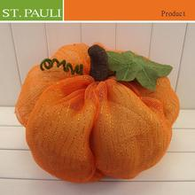 new funny mesh fabric pumpkin autumn and thanksgiving day gift
