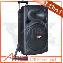 "new 15"" woofer professional audio speaker loudspeaker box portable loudspeaker"