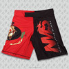 custom sublimated plain MMA shorts wholesale