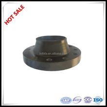Lowest price carbon steel forging black oil painting 150lbs WN ANSI standard flange astm a105 flange