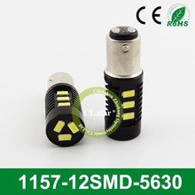 Lowest defective rate 1157 led bulb led brake light 1157-12smd 5630 chip auto lamp 12v