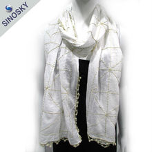 Promotional cheap best quality blank silk scarves wholesale