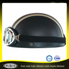 wholesale adult vintage black scoot half helmet for sale