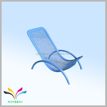 Chair shape metal wire mesh powder coated small for phone children stationery set