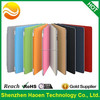 CE Rohs Reach standard High quality leather stand flip magnetic smart cover with hard back case for ipad mini 3 for ipad mini 2