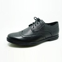 upscale lace up classic bullock style shiny color leather shoes for men with best selling