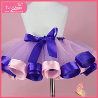 Beautiful girls tutu bubble skirt, cute girls in short skirts, party skirt for young girl
